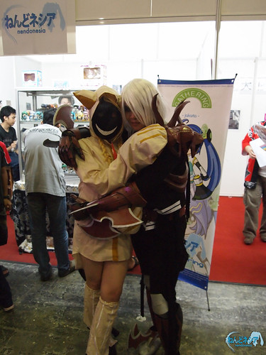 Momonoji and Juan are also cosplaying! XD