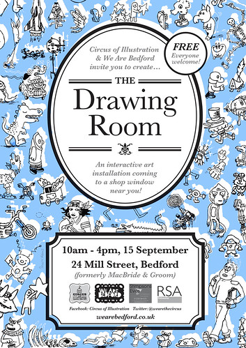the-drawing-room-poster7 by Doodle Howls