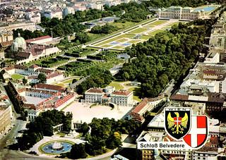 Vienna - Belvedere (Postcard)