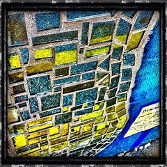 Blue and Yellow Mosaic