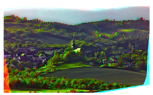Heimburg in the Harz Mountains 3D :: HDR Anaglyph