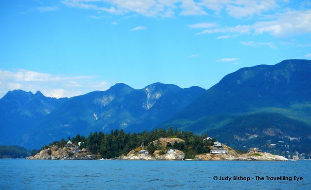 Howe Sound (near Vancouver), sailing in September