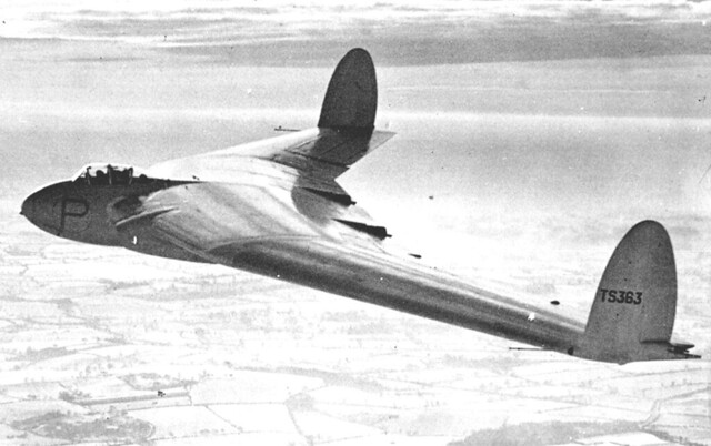 Armstrong Whitworth A.W.52 in flight