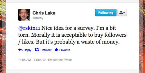 chris lake tweet