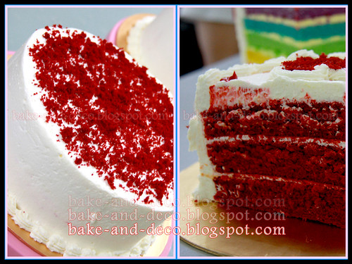 Red Velvet Cake with Special Cream Cheese