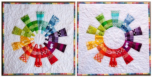 Color Cog Mini Quilt v1 v2