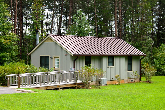 The Six Camp Cabins In The Park Offer Plenty Of Room