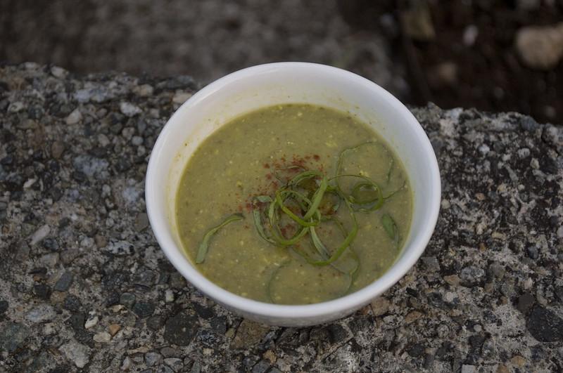 asparagus-pistachio soup