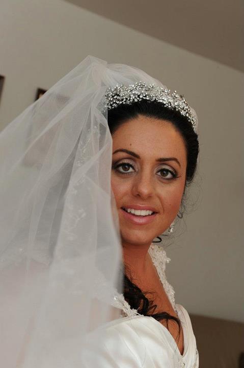 Swarovski crystal bridal headpiece, bridal accessories New York