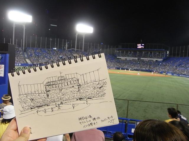 神宮球場 2012/9/15 その2