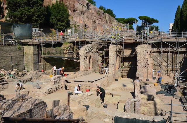 New excavations of Nero's Domus Aurea near the Forum (2)