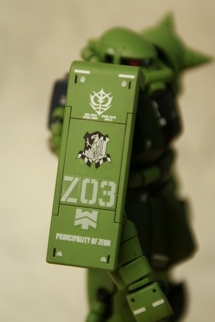 "Real Grade 1/144 - MS-06F Zaku II ""Elite Guard"" - Completed 6 -"
