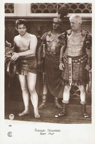 Ramon Novarro and Frank Currier in Ben-Hur: A Tale of the Christ (1925)
