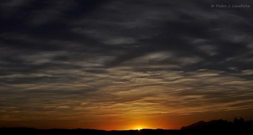 sol atardecer nubes puesta posta sabadell capvespre sunrisenúvols