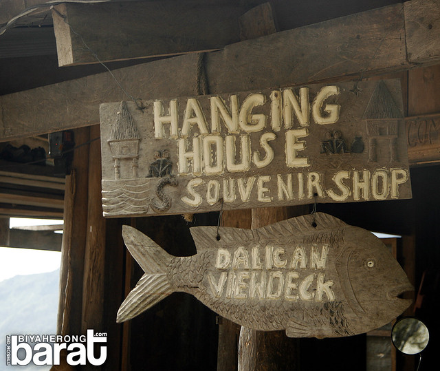 hanging house souvenir shop dalican viewdeck
