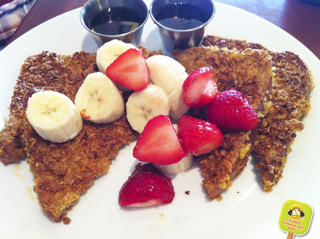 ft lauderdale - riva restaurant - corn flake french toast