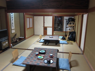 Our room in Morizuya ryokan, in Kinosaki