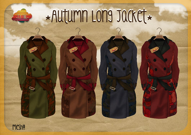 Autumn Long Jacket *Tea Time* NEW!!!