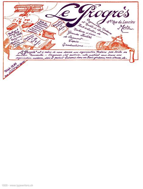 letterhead_progres_metz_1935