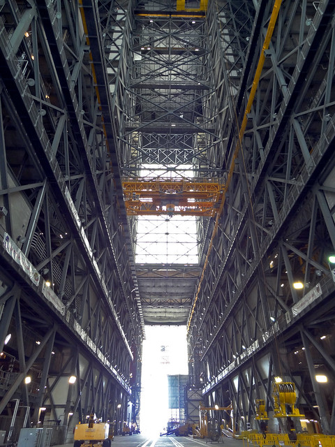 nasa vehicle assembly building interior - photo #20