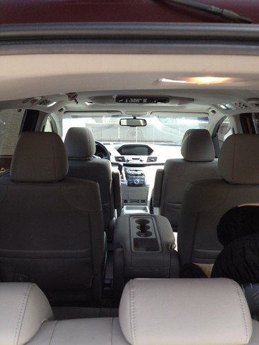 2012 Odyssey from the back
