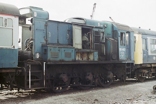08463 long withdrawn at Roe-Booth Metals in Rotherham - 1992