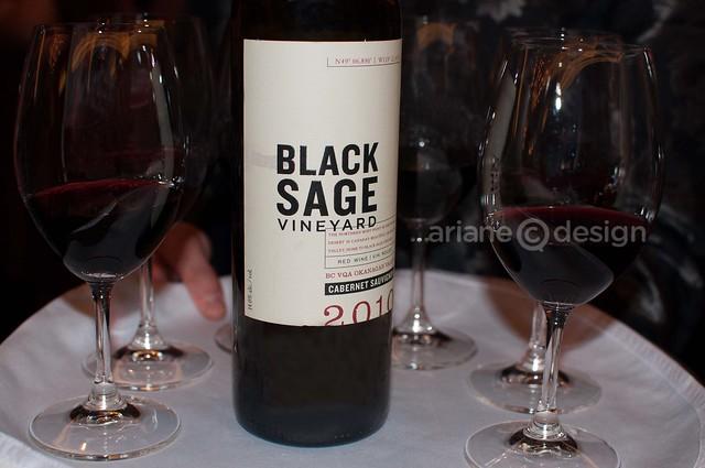 Black Sage Vineyard 2010 Cabernet Sauvignon