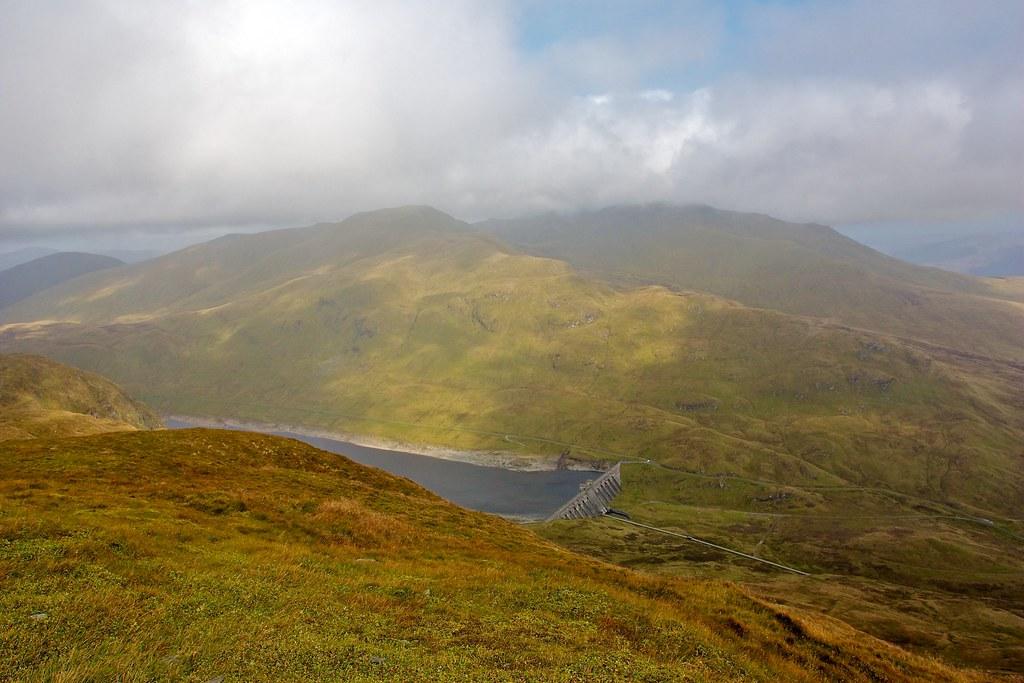 Ben Lawers above Lochan na Lairige