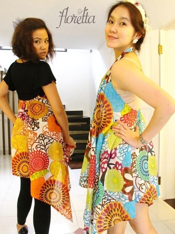 Floretta Vest Colorful Flora Paisley