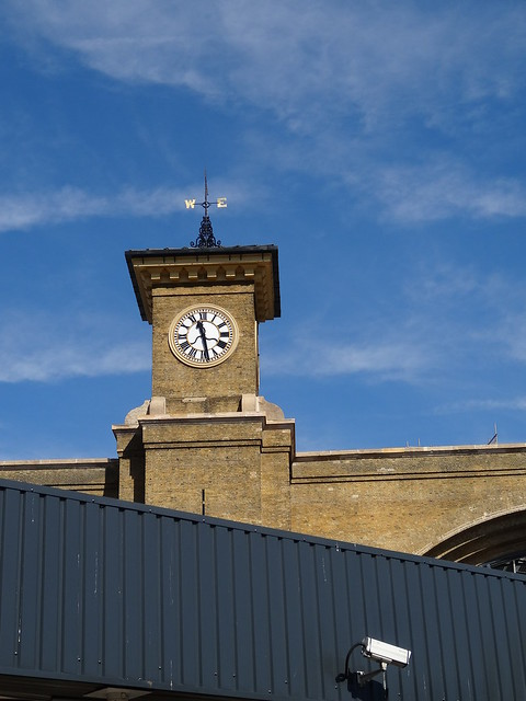 King's Cross Clock Tower With CCTV