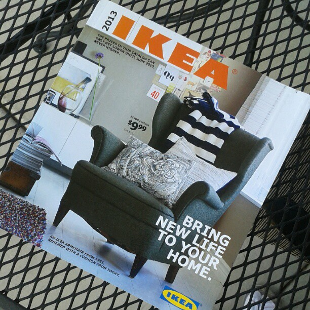 Coming home to this...makes me happy. #SoSimple #IKEA