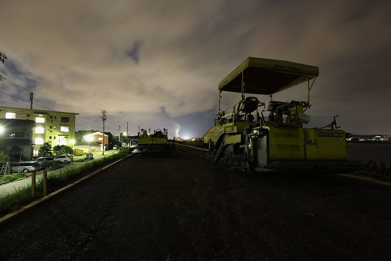 Heavy machinery of the night