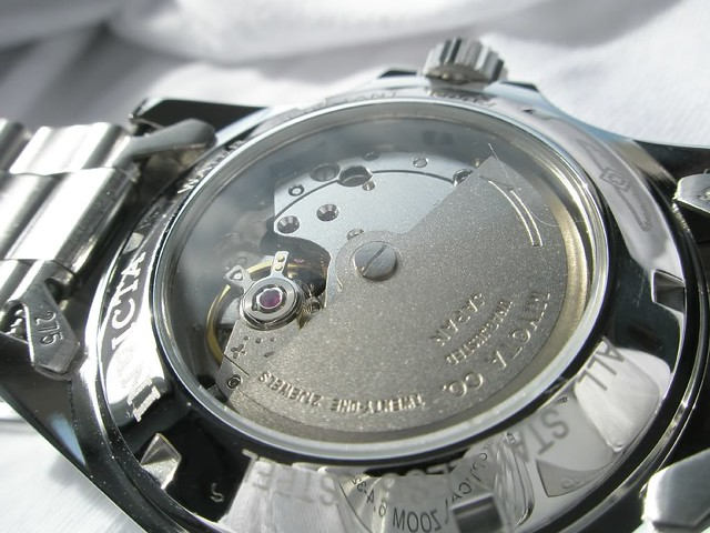 Invicta 8926 case back