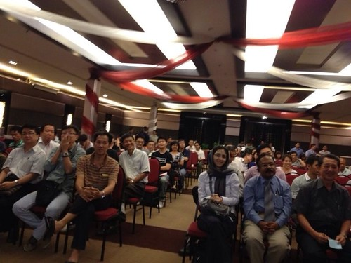 Robin Ho on SGX/OSK investment speaking tour to Kota Kinabaru/Sibu/Kuching