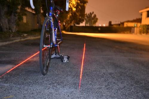 Спасать жизни велосипедов будут лазеры Xfire