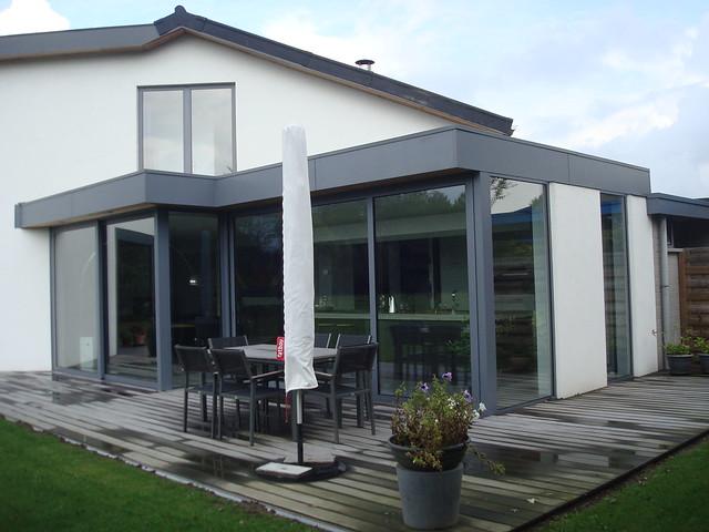 Moderne uitbouw - aluminium veranda modern : Flickr - Photo Sharing!