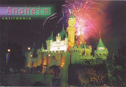 Anaheim California Magic Kingdom Fireworks
