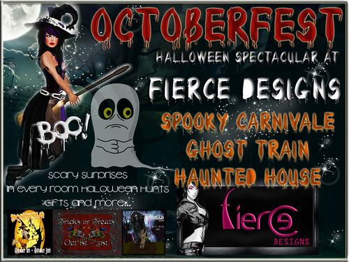 Fierce Designs Octoberfest Poster 2012
