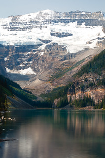 Lake Louise - across the lake