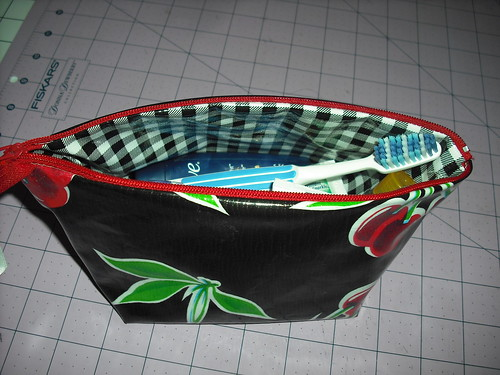 wide opening pouch