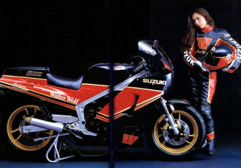 Teamheronsuzuki Walter Wolf Rg500 And 400