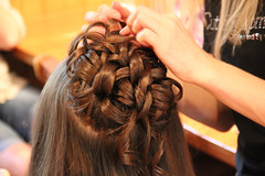 chignon(0.0), french braid(0.0), hairstyle(1.0), hairdresser(1.0), hair(1.0), brown hair(1.0), hair coloring(1.0), braid(1.0),