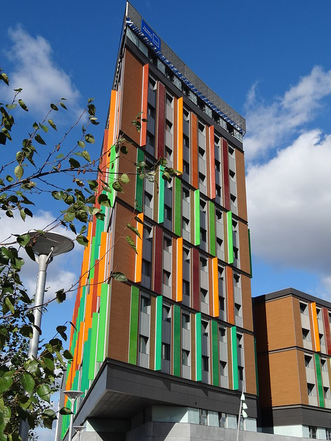 Colourful Student Flats At Tottenham Hale