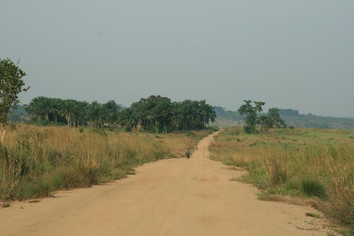 the road to Lubumbashi