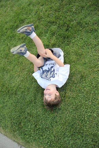 Olsen on the ground