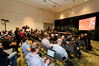 Crowded briefing room for Thomas Kurian EVP, product development, Oracle Corporation by Oracle_Photos_Screenshots