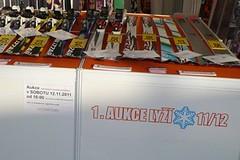 Aukce lyží od 1 Kč na brněnském SPORTLIFE 2012