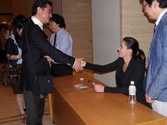 Alondra de la Parra en concierto con la Orquesta Filarmónica de Tokio