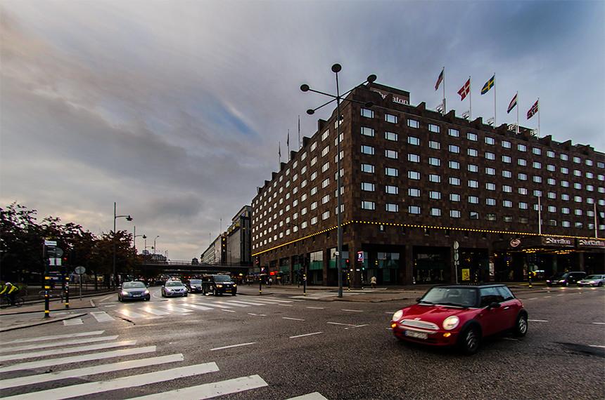 Hotell Sheraton vid Tegelbacken