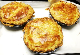 Blushing-Cream Roast Chicken & Red Curry Pot Pie12